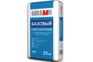 """Клей плиточный """"Базовый"""" 25кг МАГМА"""
