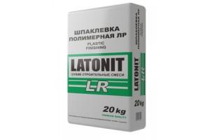 """Шпатлевка полимерная фин. белая LATONIT""""LR"""" 20кг"""