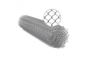 Сетка-рабица 55х55 оцинкованная (1,5м, 10 м) d 1,5 мм, шт