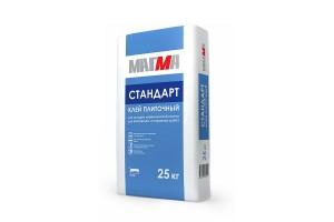 """Клей плиточный """"Стандарт"""" 25кг МАГМА"""