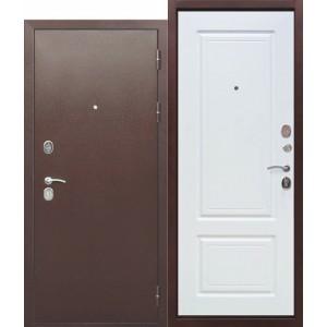 Входная дверь 10 см ТОЛСТЯК РФ Медный антик БЕЛЫЙ ЯСЕНЬ