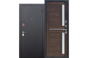 Входная дверь 7,5 см НЬЮ-ЙОРК Царга Каштан мускат