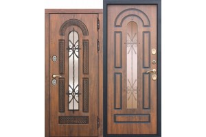Входная дверь c ТЕРМОРАЗРЫВОМ 13 см VITRA Винорит Патина (Израиль)