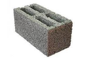 Блочный кирпич (керамзитовый) 190х190х390 мм
