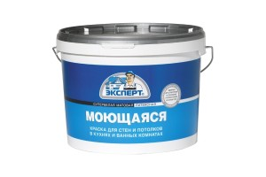 Краска для стен и потолков Эксперт -30 С, Белая 7 кг
