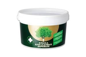 Краска для садовых деревьев ЭКСПЕРТ белая (2,7кг)