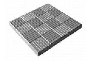 Тротуарная плитка 300х300х30 мм (Паркет)